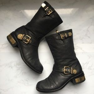 Vince Camuto Motorcycle leather boots